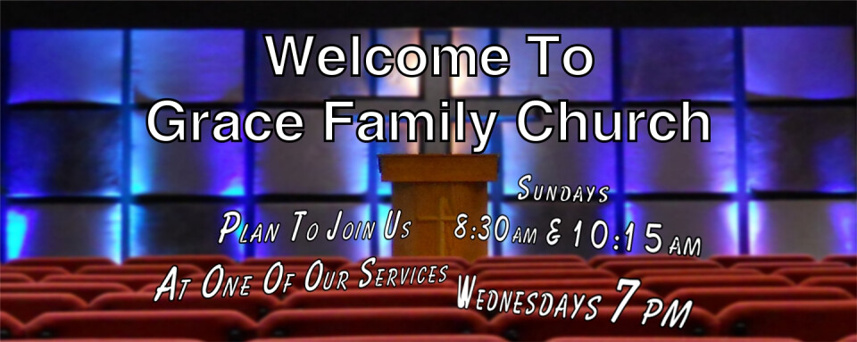 Sunday Morning Service 8:30am & 10:15am