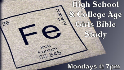 FE; High School & College Age Bible Study @ 7pm