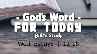 "Bible Study ""God"