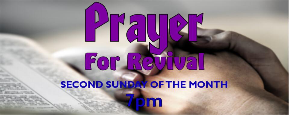 Prayer for Revival @7pm