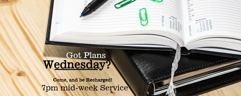 Wednesday Evening Service