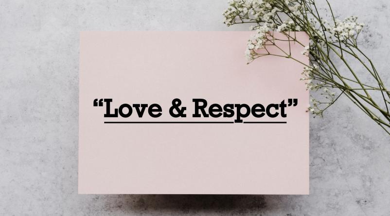 Love & Respect II