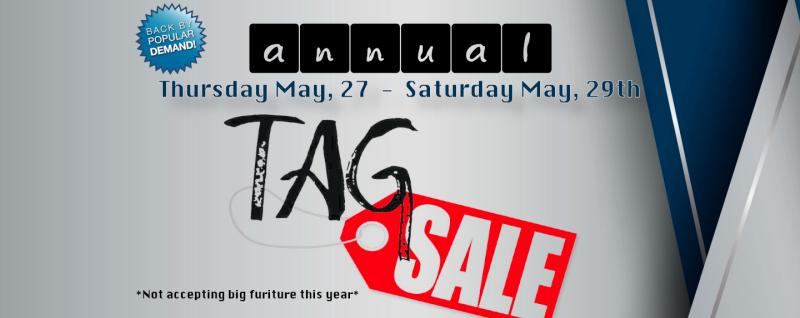 Annual Church Tag Sale